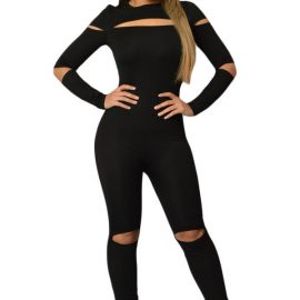 Black-Open-Slit-Skinny-Jumpsuit-LC64012-2-1